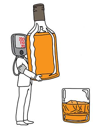 الکل در تست اعتیاد ازدواج